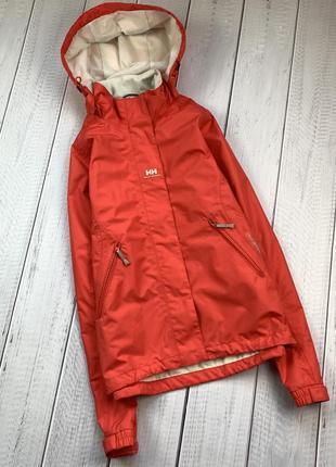 Ветровка helly hensen original женская куртка s легкая с капюшоном