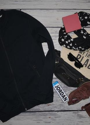 S фирменная кофта спортивная эффектный бомбер американка батник