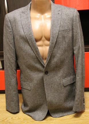 Пиджак, блейзер mexx virgin wool, шерсть, италия