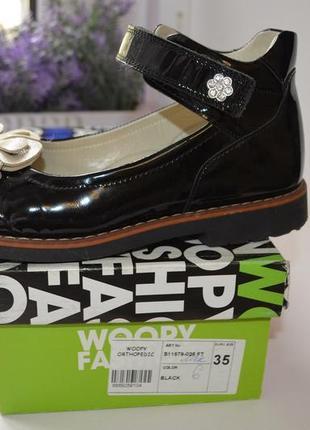Туфли woopy orthopedic р. 35 по стельке 23 см