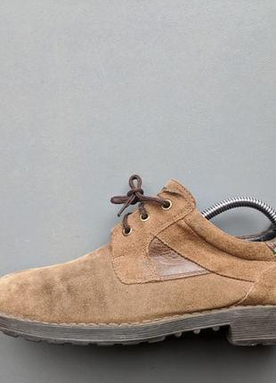 Seaside туфли. португалия. замша