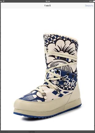 Стильные  дутики сапожки king boots