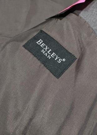 Пиджак на крупного мужчину bexleys, woolmark