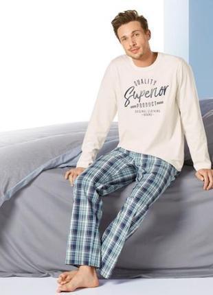 Мужская пижама livergy германия размер xl - 56-58