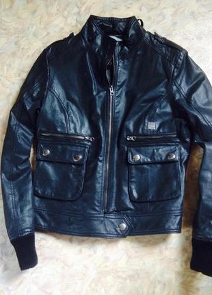 Кожаная куртка(натуральная кожа!) Blend She 638e2b1e93cc5