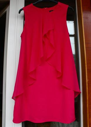 Красивое, розовое,платье,плаття,сукня,рожеве,воланы