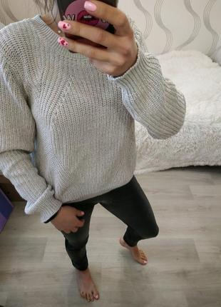 Красивенный оверсайз свитер от h&m