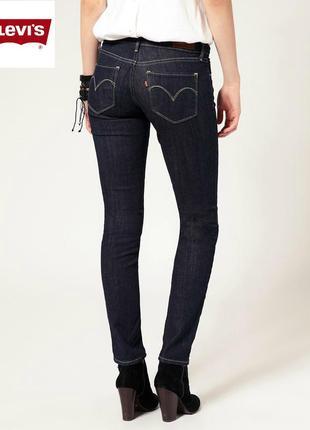 Женские джинсы levis (75.85$)  оригинал р. 27
