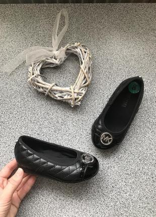 Балетки туфельки стьогані michael kors, туфли
