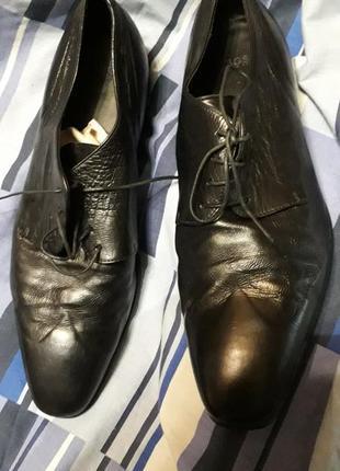 Туфли кожа boss italy ст32