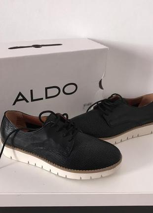 Туфли -оксфорди шкіряні,aldo prauvia.