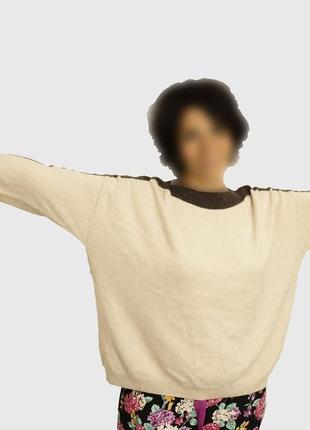 Кашемировый свитер oversize