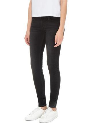 Черные джинсы скинни levis 710 оригинал винтаж