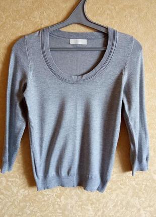 🎀серый джемпер/пуловер/идеальный/распродажа 🙀🤑