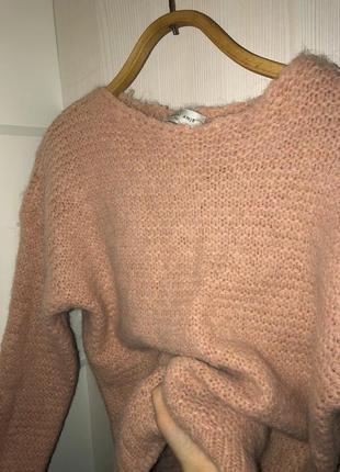 Идеальный шерстяной женский свитер кофта