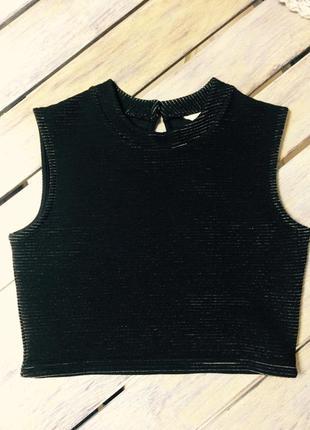 Блуза укороченная s/m