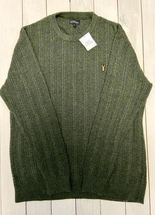 Темно-зелений светр від next