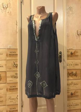 Платье свободное вискоза