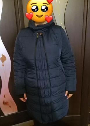 Пальто-куртка для беременных с вкладышем