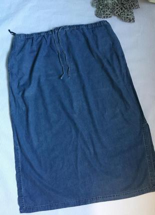 Стильная легкая юбка