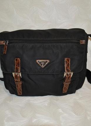 Спортивная сумка prada, оригинал