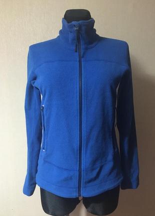 Флисовая женская кофта,олимпийка,толстовка на молнии размер m