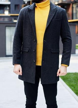 Крутой шерстяной пиджак