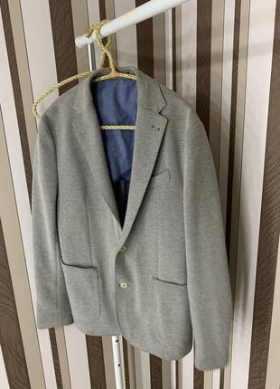 Стильный нарядный пиджак mango man smart