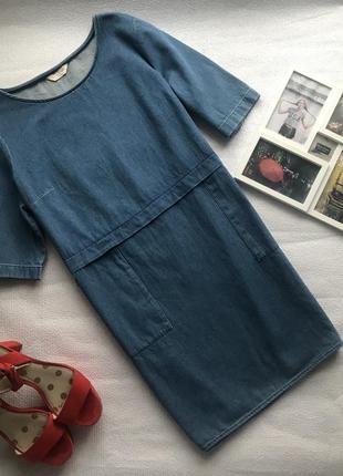 👗джинсовое платье - туника