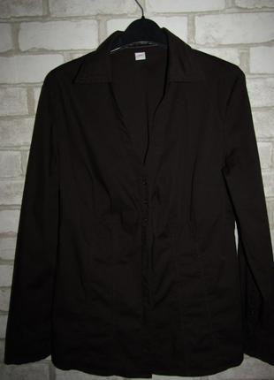 Стрейчевая рубашка р-р 14 бренд s.oliver