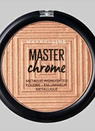 Хайлайтер maybelline master chrome 150