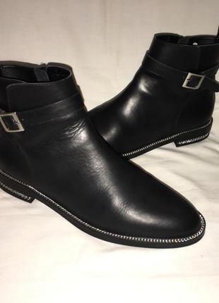 Ботинки *heine* кожа германия р.41 (27.00 см)