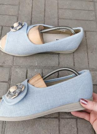 Босоножки-туфли для проблемных ног cosyfeet, размер 39 1/2 (25.5см)