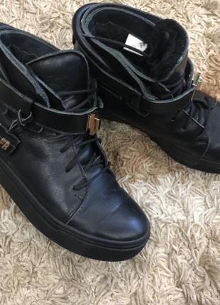 Ботинки hermès (зима)