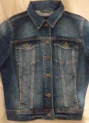 Джинсовая курточка из германии размерs-m