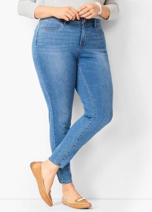 Стильные укороченные джинсы скинни размер 20