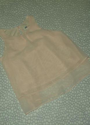Нарядная блузка h&m 9-10 лет
