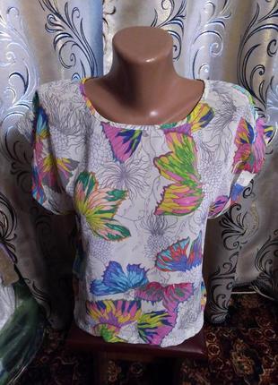Нежная блуза с молнией на спинке topshop