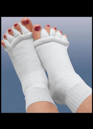 Махровые носки без пальцев для занятий йогой