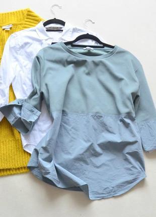 Стильная котоновая блуза  cos