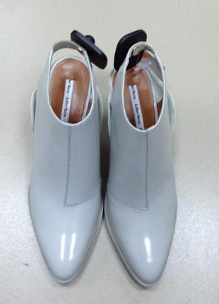 Кожаные туфли-лодочки с открытой пяткой & other stories кожаные босоножки # zara # h&m