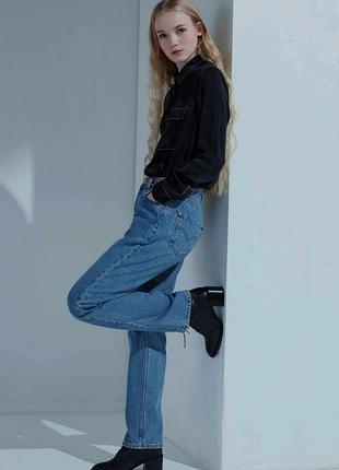 Мом джинсы высокая посадка оригинал levis 501