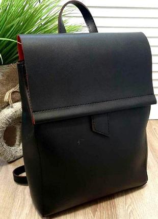 Женский кожаный рюкзак сумка! натуральная кожа! ручки трансформер!