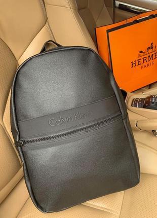 💥новинка⭐️ новый шикарный рюкзак pu кожа / городской calvin / портфель / сумка