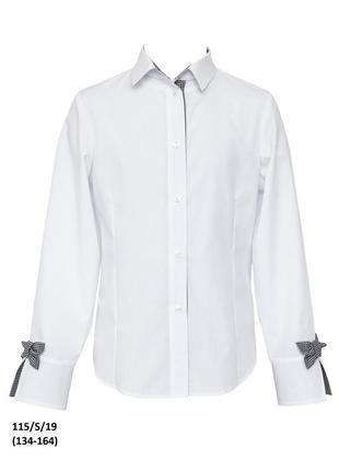 Блузка школьная sly 115, производство польша