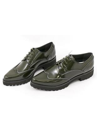 Кожаные туфли броги geox respira р. 35; 36; 37; 38,5; 39; 40; 41
