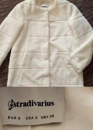 Элегантная шубка stradivarius