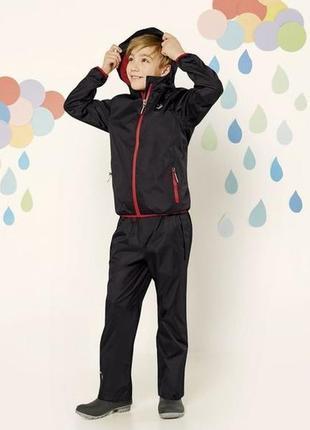 Детские штаны дождевики 4-6 лет брюки на дождь crivit, германия