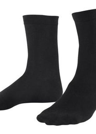 Набор 2 пары черных мужских носков р. 43-46 германия
