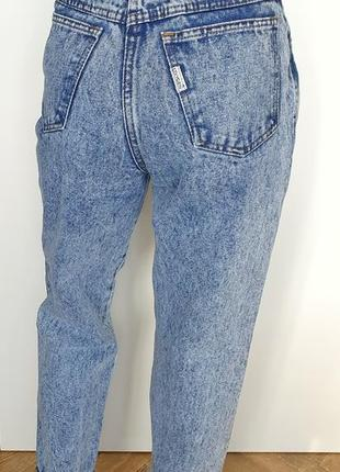Винтажные джинсы мом мам mom высокая посадка талия джинсы винтаж